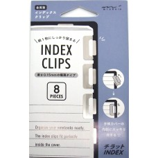 Index Clips - Silver