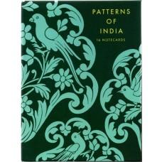 Patterns of India Notecard Set - Box