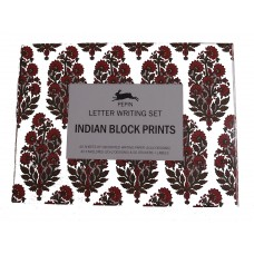 Letter Writing Set, Indian Block Prints