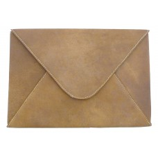 Leather File Folder - Tan