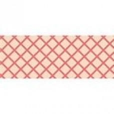 Nostalgic Dusky Pink Grid