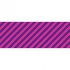 Neon Blue/Hot Pink Stripes