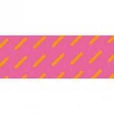 Neon Pink/Orange Stripes