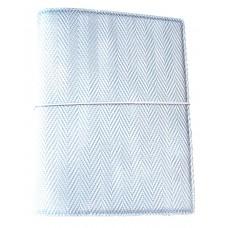 Marina A5 Traveller's Notebook - Blue-Silver