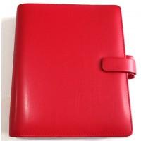 Metropol A5 Organiser Red