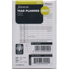 Mini Year Planner Vertical 2022