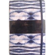 Shibori Mist Ruled A5 Notebook