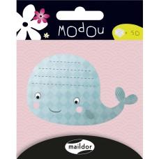 Modou Sticky Notes - Whale
