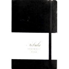 Nebula Note Premium Black Lined