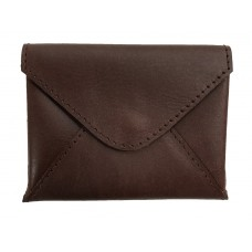 Nino Leather Card Holder - Brown