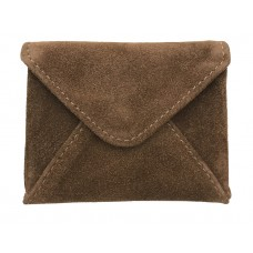 Nino Leather Card Holder - Suede