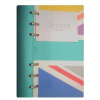Union Jack Personal Clipbook
