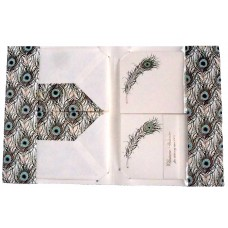 Peacock Card Set - Wallet
