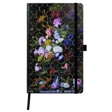 Vintage Floral Notebook - Peony