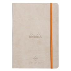 Rhodiarama Perpetual Diary A5 Beige