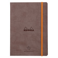 Rhodiarama Perpetual Diary A5 Chocolate