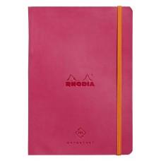 Rhodiarama Perpetual Diary A5 Raspberry