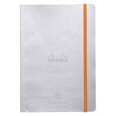 Rhodiarama Perpetual Diary A5 Silver