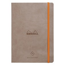 Rhodiarama Perpetual Diary A5 Taupe