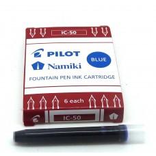 Pilot IC-50 Cartridges, 6 Blue