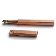 Portable Classic Fountain Pen - Copper