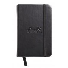 Webnotebook A7 Black - Blank