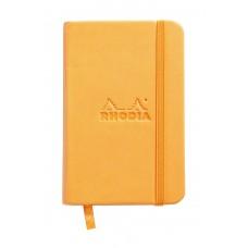 Webnotebook A7 Orange - Lined