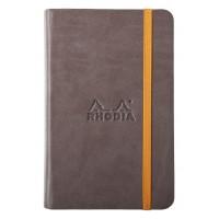 Rhodiarama Webnotebook A5 Chocolate - Lined
