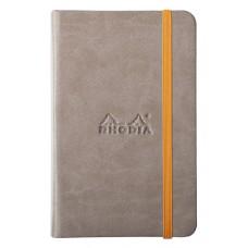 Rhodiarama Webnotebook A6 Taupe - Lined