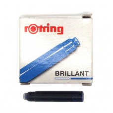 Rotring Blue Cartridges 6 pack.
