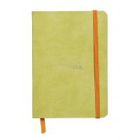 Rhodiarama Hardcover Notebook A5 Anise - Lined