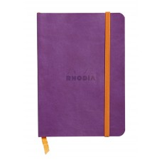 Rhodiarama Softcover Notebook A5 Purple - Dot Grid