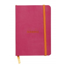 Rhodiarama Softcover Notebook A5 Raspberry - Dot Grid