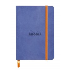 Rhodiarama Softcover Notebook A5 Sapphire - Dot Grid