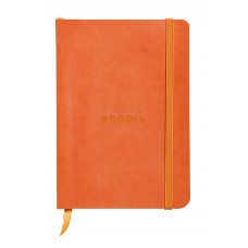 Rhodiarama Softcover Notebook A5 Tangerine - Dot Grid