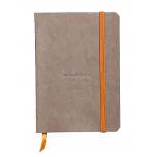 Rhodiarama Softcover Notebook A5 Taupe - Dot Grid