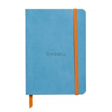 Rhodiarama Softcover Notebook A5 Turquoise - Dot Grid