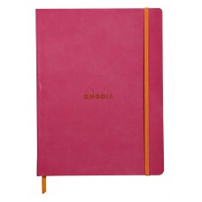Rhodiarama Softcover Notebook B5 Raspberry - Lined