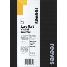 Layflat Visual Journal A5 Black
