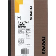 Layflat Visual Journal A5 Kraft