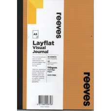 Layflat Visual Journal A5 Senape