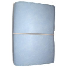 Domino Soft Personal Organiser Pale Blue