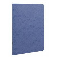 Age-Bag Stapled A5 Blue Notebook - Lined