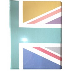Classic Pastels Union Jack A5 Notebook