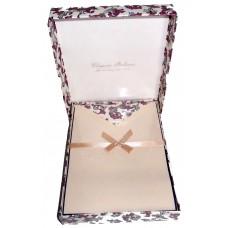 Violet Florentine Letter Set - Box