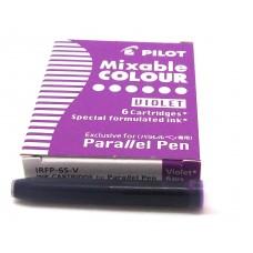 Pilot Parallel Cartridges, 6 Violet