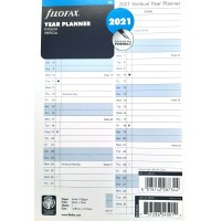 A5 Year Planner Vertical 2021